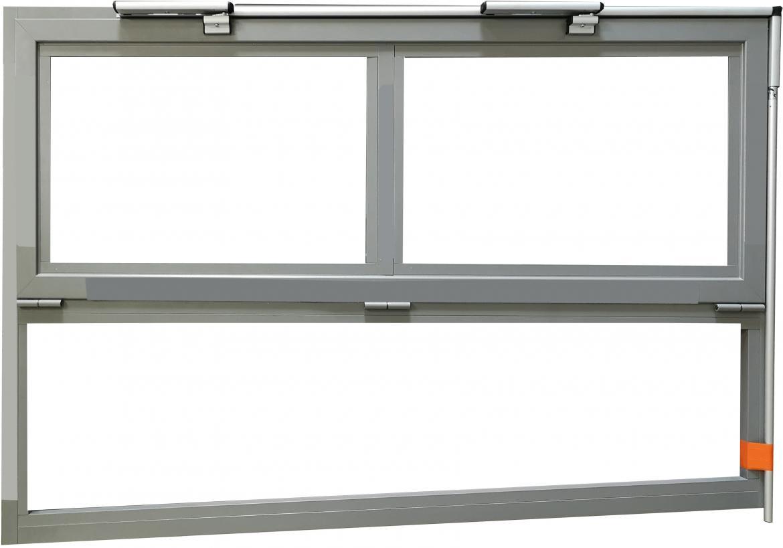 Okna aluminiowe trapezowe