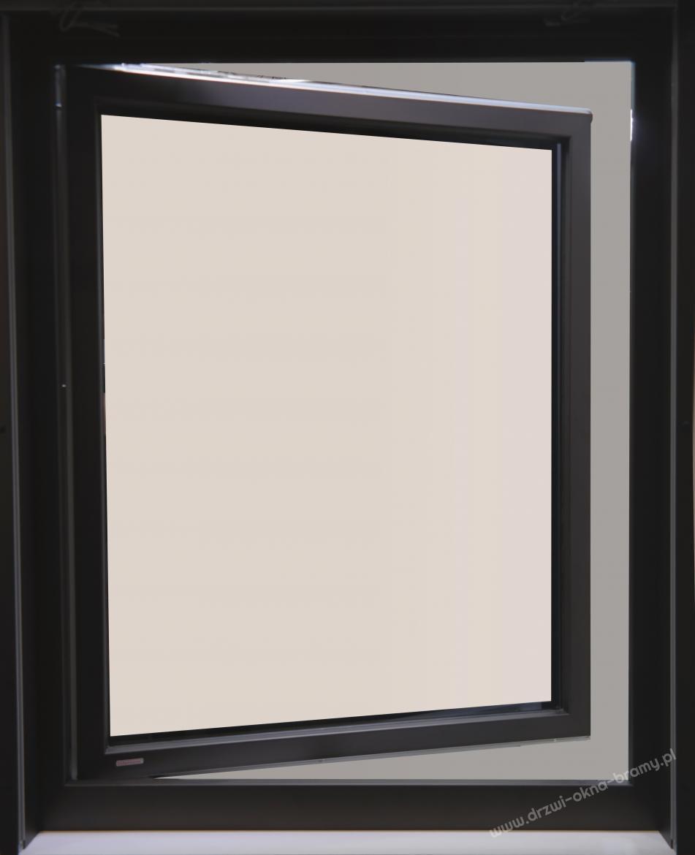 Okno aluminiowe zewnętrzne